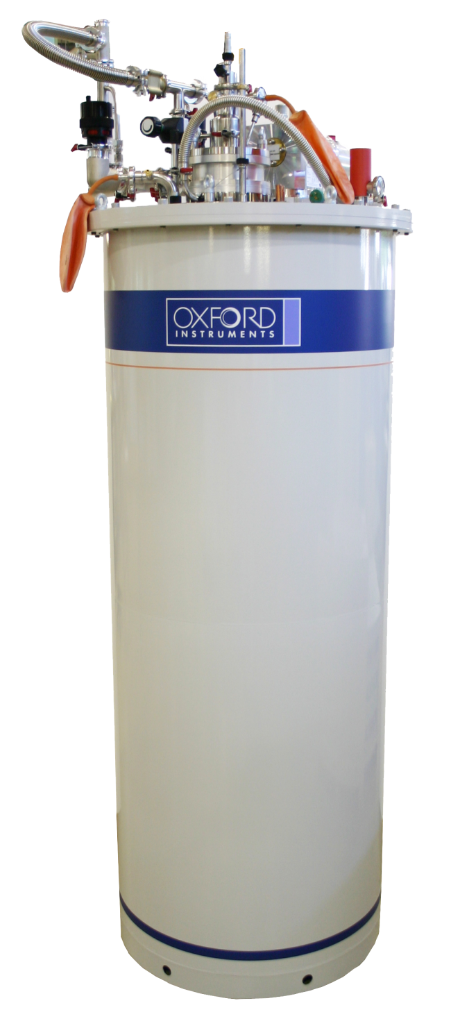A recondensing helium,superconducting, and split-pair magnet for low temperature research and cryogenics