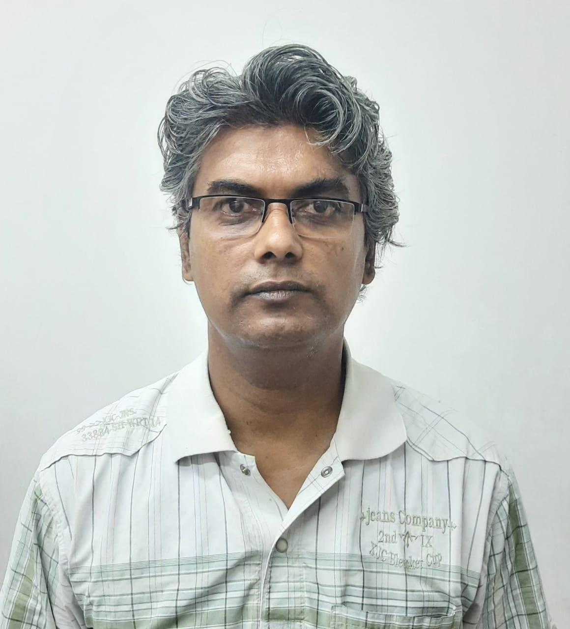 Dr Biswajit Karmakar, Saha Institute of Nuclear Physics