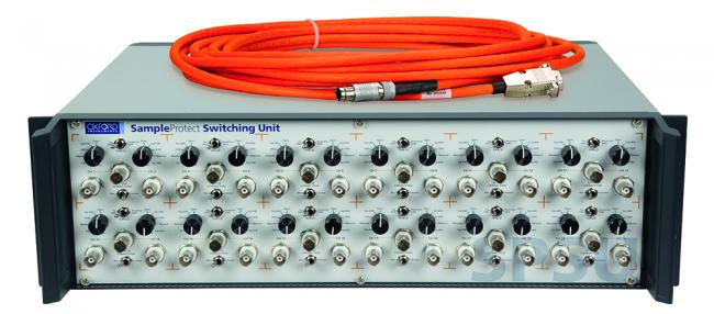Sample Protect Switching unit for ESD protection of sensitive samples for low temperature experiments