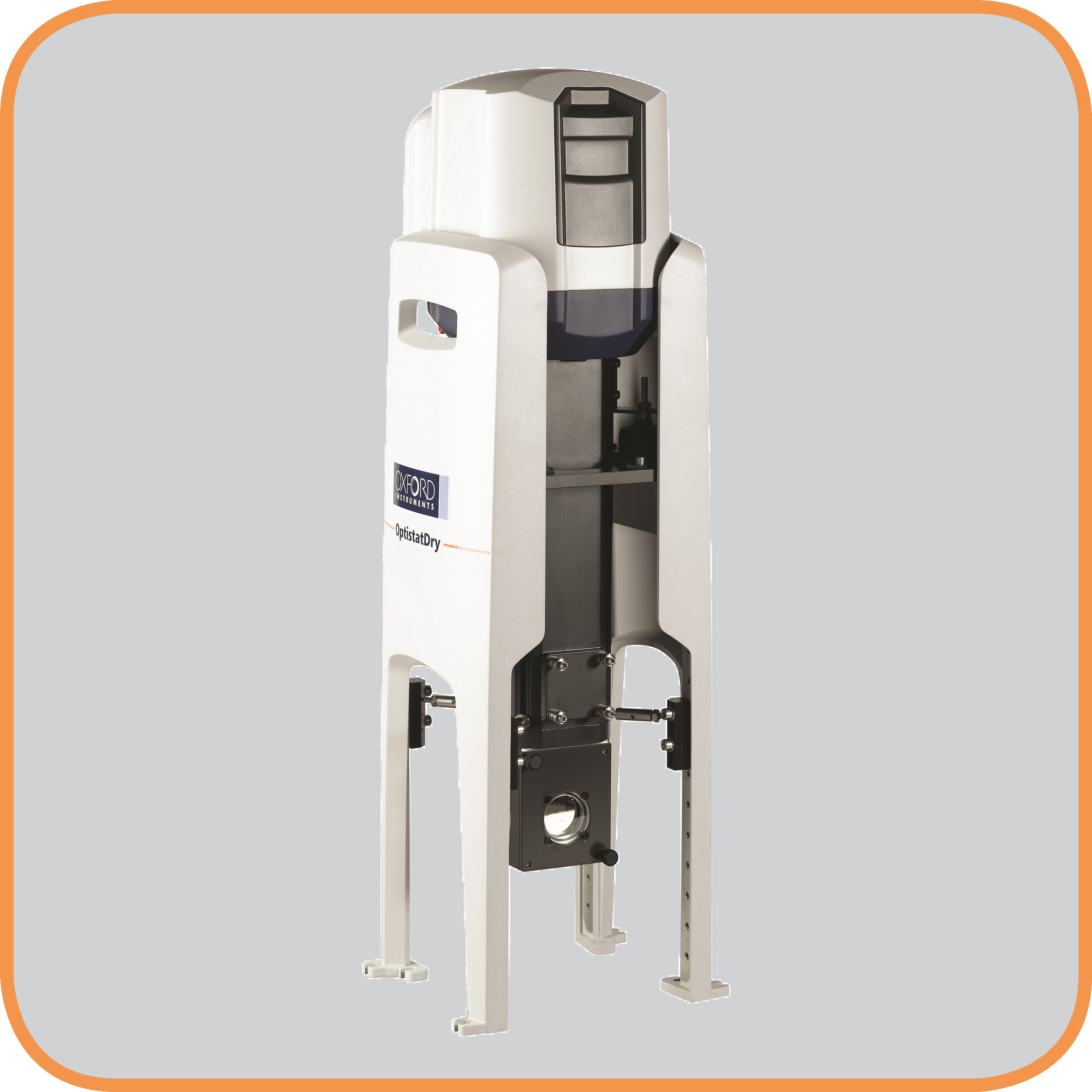 OptistatDry BLV bottom loading Cryofree cryostat