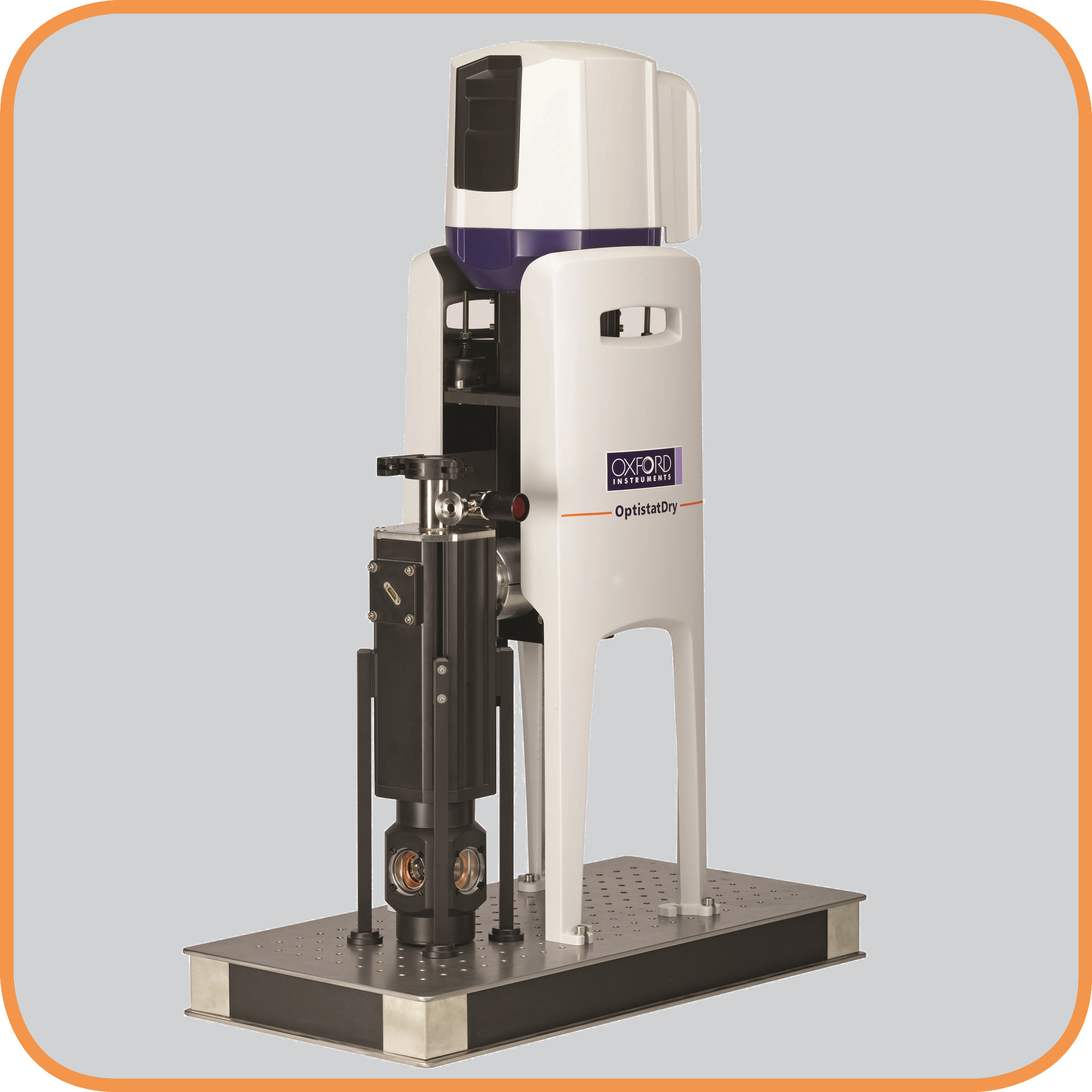 OptistatDry TLEX top-loading Cryofree cryostat